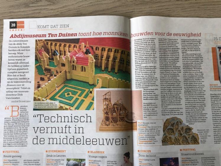 Foto artikel Nieuwsblad